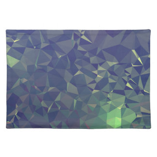 Abstract & Clean Geo Designs - Nightime Fireflies Placemat