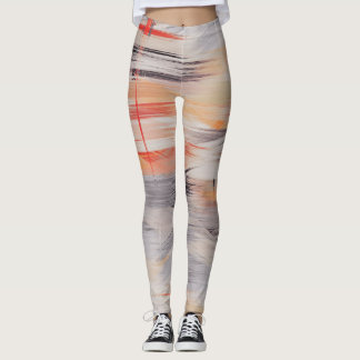 Abstract Color Art #26 Leggings