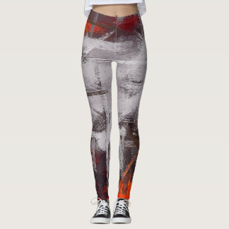 Abstract Color Art #5 Leggings