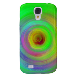 Abstract Color Ripples Galaxy S4 Case