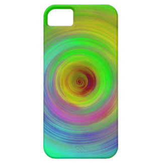 Abstract Color Ripples iPhone 5 Case