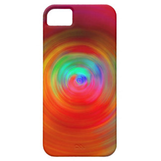 Abstract Color Ripples iPhone 5 Cover