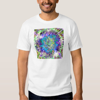Abstract Colorful Tie Dye Tee Shirts
