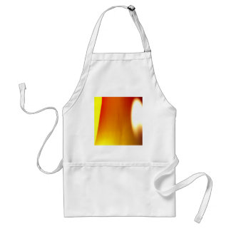 Abstract Colors Warm Stripe Aprons