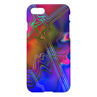 Abstract Colourful line pattern iPhone 8/7 Case