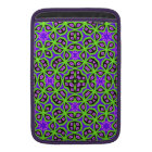 Abstract colourful trendy pattern sleeve for MacBook air