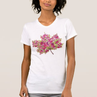 Abstract Colourful Watercolor Autumn Leaf T-Shirt