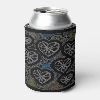 Abstract dark hearts can cooler