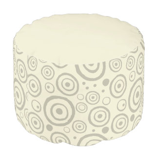 Abstract Decorator Style Pouf