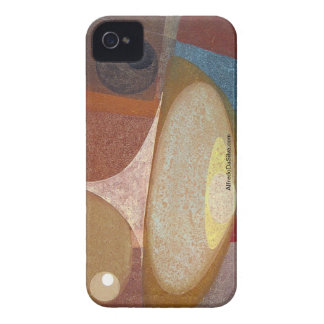 Abstract Design 14X11 iPhone 4 Case