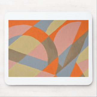 Abstract Design from Original Painting Mouse Pad