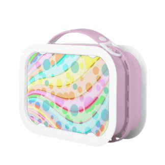 Abstract Design on  Yubo Lunchbox
