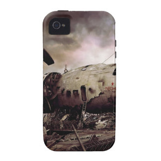 Abstract Destruction Back To Basics Case-Mate iPhone 4 Cover