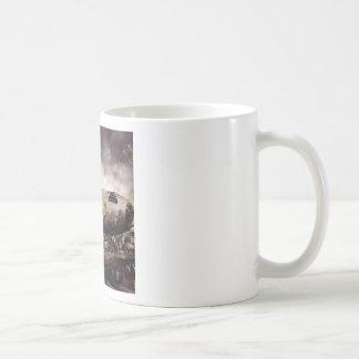 Abstract Destruction Back To Basics Coffee Mug