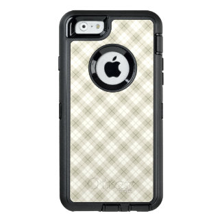 Abstract Diagonal Scottish Plaid OtterBox Defender iPhone Case