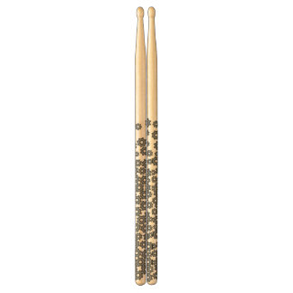 abstract drumsticks