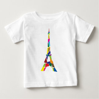 Abstract Eiffel Tower, France, Paris Baby T-Shirt