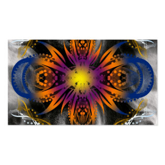 Abstract Explosion Pack Of Standard Business Cards