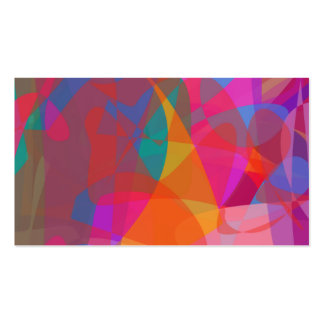Abstract Expressionism Business Cards