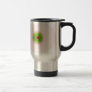 Abstract Eye Design Travel Mug