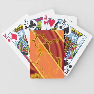 Abstract fantasy bicycle playing cards