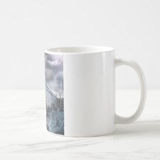Abstract Fantasy Noahs Ark Revise Coffee Mug