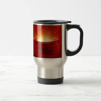 Abstract Fire Hot Caldren Coffee Mug