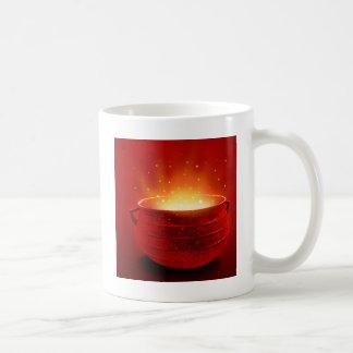 Abstract Fire Hot Caldren Coffee Mugs