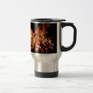 Abstract Fire Hot Ember Coffee Mug