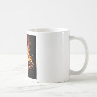 Abstract Fire Hot Ember Mugs