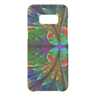 Abstract Floral Stained Glass Pattern Uncommon Samsung Galaxy S8 Case