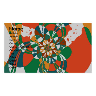 Abstract Flower #7 Pack Of Standard Business Cards