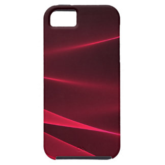 Abstract flux red crimson iPhone 5 case