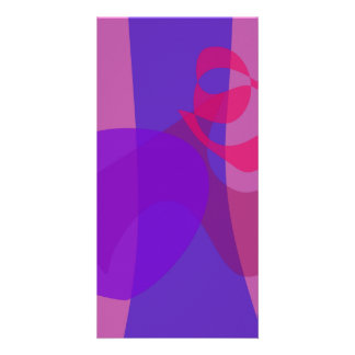 Abstract Forest Image Cool Soft Custom Photo Card