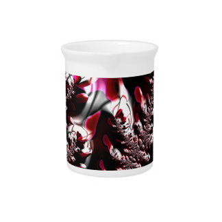 Abstract fractal cuff RNS and shapes. Fractal kind Beverage Pitchers