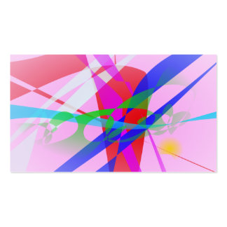 Abstract Freedom Business Cards