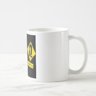 Abstract Garden Caution Zombie Land Coffee Mugs