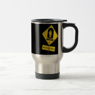 Abstract Garden Caution Zombie Land Mug