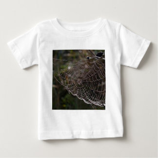 Abstract Garden Web Of Dew Baby T-Shirt