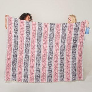 Abstract geometric boho style pattern. fleece blanket