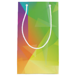Abstract Geometric Gift Bag - Customizable
