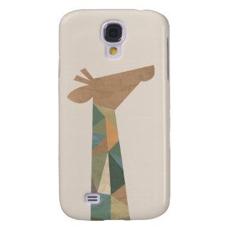 Abstract Giraffe Galaxy S4 Case