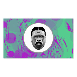 Abstract Gorilla Business Cards
