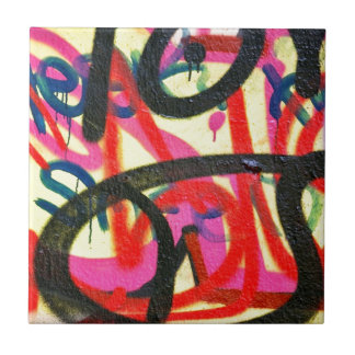 abstract graffiti background ceramic tile