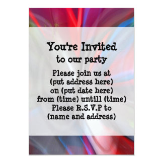 Abstract Graffiti 5x7 Paper Invitation Card