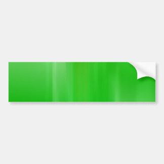 Abstract Green Motion Blur: Bumper Sticker