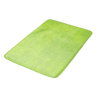 Abstract green paper bath mats