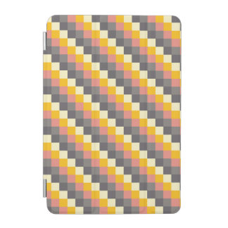 Abstract Grid Color Pattern iPad Mini Cover