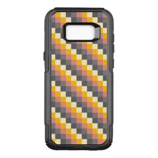 Abstract Grid Color Pattern OtterBox Commuter Samsung Galaxy S8+ Case