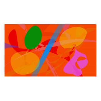 Abstract Image Business Cards